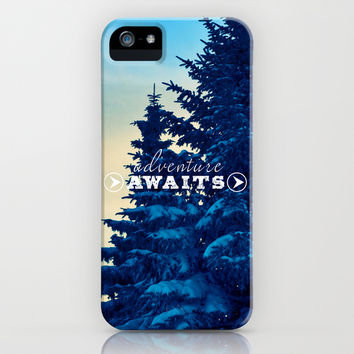 Adventure Awaits iPhone & iPod Case by Sandra Arduini