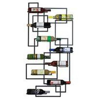 grazie wall wine holder - set of 2 - a modern, contemporary wine holder from chiasso