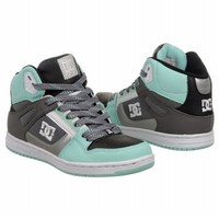 Athletics DC Shoes Women's Rebound Hi Black/Cockatoo Shoes.com