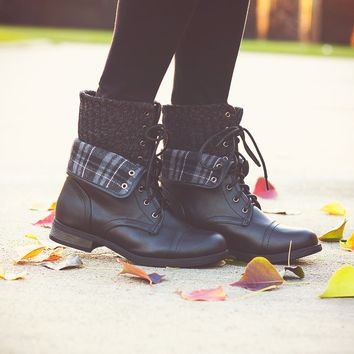 Winter Flannel Boots $46.00
