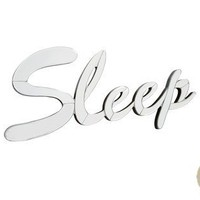 Mirrored Sleep Sign at LAURA ASHLEY