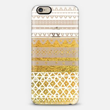 FANTASY IN GOLD AND WHITE iPhone 6 case by Nika Martinez | Casetify