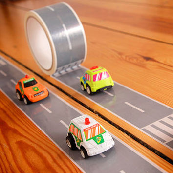 My First Autobahn/My First Railway Adhesive Tape
