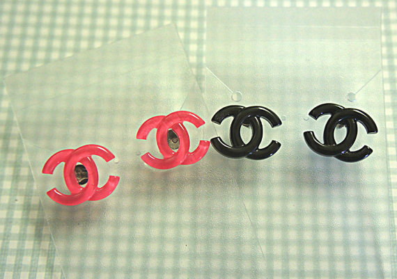 chanel inspired earrings