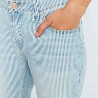 BDG Slim-Fit Boyfriend Jean - Railroad Stripe- Indigo