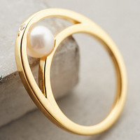 Pearl Embrace Ring by Gold Philosophy Pearl