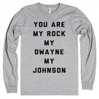 Heather Grey T-Shirt | Funny The Rock Dwayne Johnson Shirts