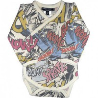 Super Boy Long Sleeve Bodysuit $30