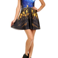 Great Hall Skater Dress - LIMITED