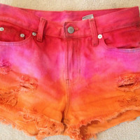 Custom Vintage High Waisted shorts- Choose you size and color(s)