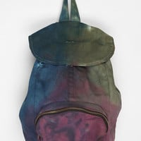 Urban Renewal Tie-Dye Denim Backpack