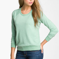 Rubbish Heathered Sweatshirt (Juniors) | Nordstrom
