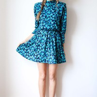 tea and tulips boutique - one of a kind vintage.  ice florals dress
