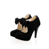 Charm Foot Womens Platform High Heel Summer Ankle Boots (8.5, Black)