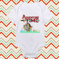 Adventure TIme Party baby shirt Onesuit, Adventure Time baby Onesuit, baby Onesuit, shirt baby Onesuit, christmas shirt baby Onesuit