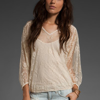 ELLA MOSS Serendipitee Tunic in Porcelain at Revolve Clothing - Free Shipping!