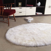 Longwool 5ft6inx8ft Oval Area Rug design by Bowron