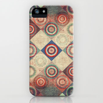 Vintage  iPhone & iPod Case by SensualPatterns