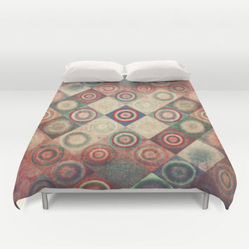 Vintage  Duvet Cover by SensualPatterns