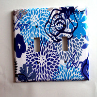 Double Light Switch Art Cover Love My Blues