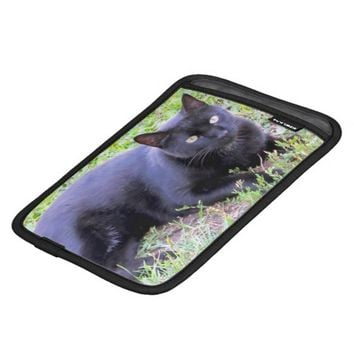 Black Cat iPad Mini Sleeve