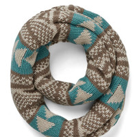 ModCloth Boho Bring Around the Cozy Scarf in Turquoise