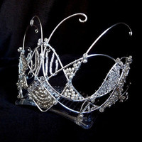 Silver tiara, on sale