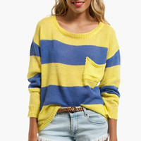 Jenga Striped Sweater $47