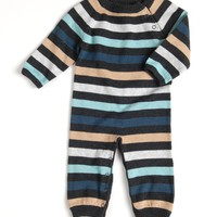flint striped knit layette