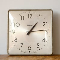 Vintage Simplex Wall Clock