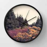 In This Place Forever Wall Clock by Tordis Kayma
