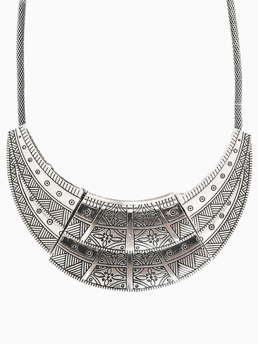 Aztec Plate Necklace | BATOKO
