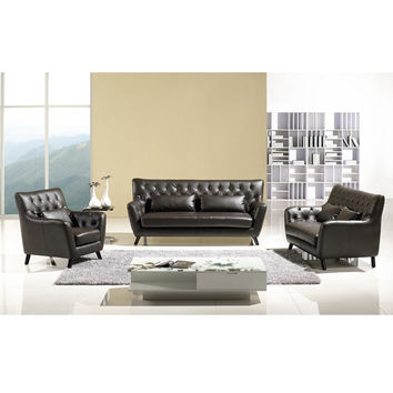Trenton 3-Piece Bi-Cast Loveseat, Sofa, Chair Set