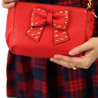 Sincerely Yours Crossbody Bag in Red