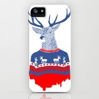 Ugly winter pulover iPhone & iPod Case by Robert Farkas
