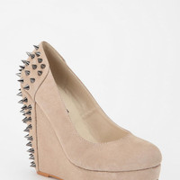 Deena &amp; Ozzy Spike-Stud Wedge Platform