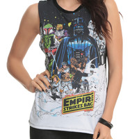 Star Wars The Empire Strikes Back Girls Muscle Top