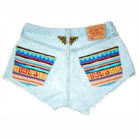PJ Denim: NATIVE Shorts