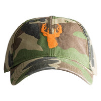 Stag Needlepoint Hat