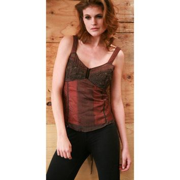 T-288 Corset Style Top
