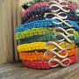 Choose Your Color Infinity Hemp Bracelet Made To Order