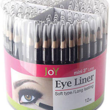 "Mini 3"""" Eye Liner Assorted Colors Counter Display Case Pack 144 - Mini 3"""" Eye Liner Assorted Colors Counter Display Case Pack 144"