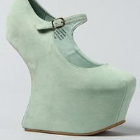 Amazon.com: Jeffrey Campbell The Night Walk Shoe in Mint Suede: Shoes