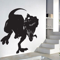 T-Rex Dinosaur Vinyl Wall Art Decor Decal WD-0063