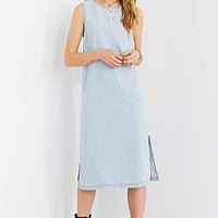 BDG Chambray Midi Tank Dress- Vintage Denim Light