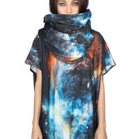 Musca Nebula Space Suit. Top and Scarf Holiday Special