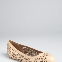 Stella McCartney dakar perforated faux leather ballet flats | BLUEFLY up to 70 off designer brands