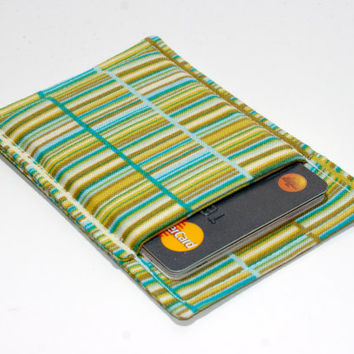 Multi colored thin wallet - Minimalist wallet - Business card holder - Business card case - Slim card wallet - Square card case