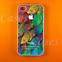 Colorful Leaves Iphone 4s Case, Iphone Case, Iphone 4 Case