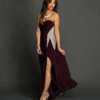 Felicity- Plum Formal Dress